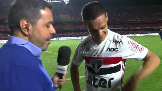 Na mira de clubes europeus, Antony despista ao comentar sobre futuro no São Paulo