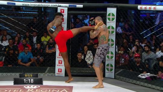 Shooto Brasil 94: Elvis Silva vence Glyan Alves por decisão dividida e fica com cinturão super-galo
