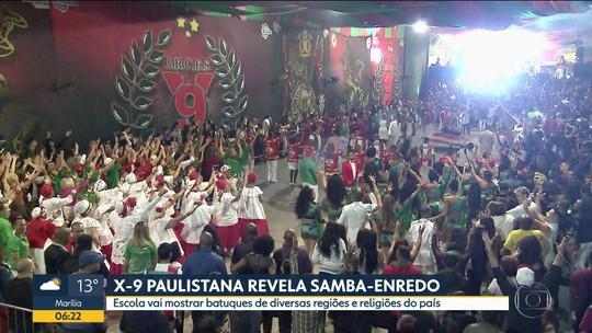 X-9 Paulistana define tema do samba para o carnaval de SP em 2020