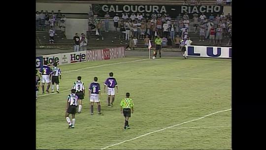 Único Atlético-MG x Defensor da história teve tetracampeão, Evair, The Flash, confusão e gol incrível
