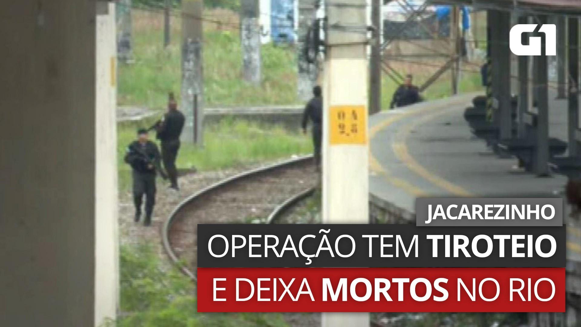 VÍDEOS: operação com 25 mortos no Jacarezinho