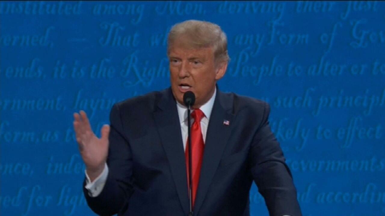 Trump fala sobre como seu governo trata o meio ambiente