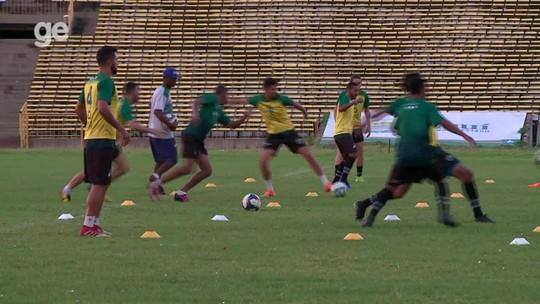 Com Edu Gago, Klenisson e Marcinho, Altos inicia treinos para a Série D do Brasileiro