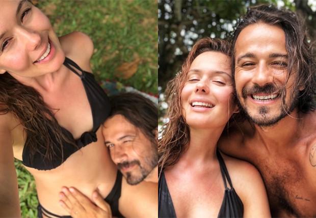 Graziela Schmitt e Paulo Leal (Foto: Reprodução/Instagram)
