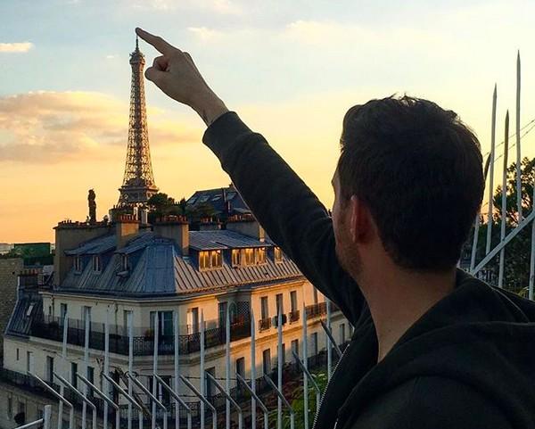 O cantor Michael Bublé (Foto: Instagram)