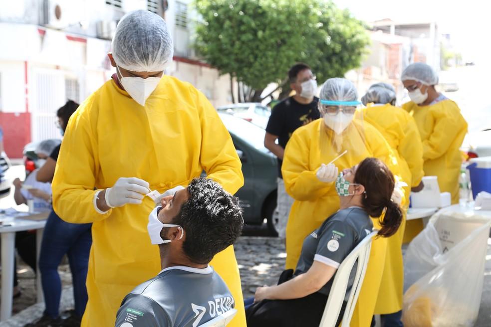 TesteAju será realizado no Bairro Santo Antônio — Foto: Marcelle Cristinne