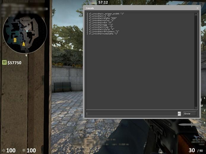 Mira no CS:GO: veja como configurar crosshair como a dos pro players