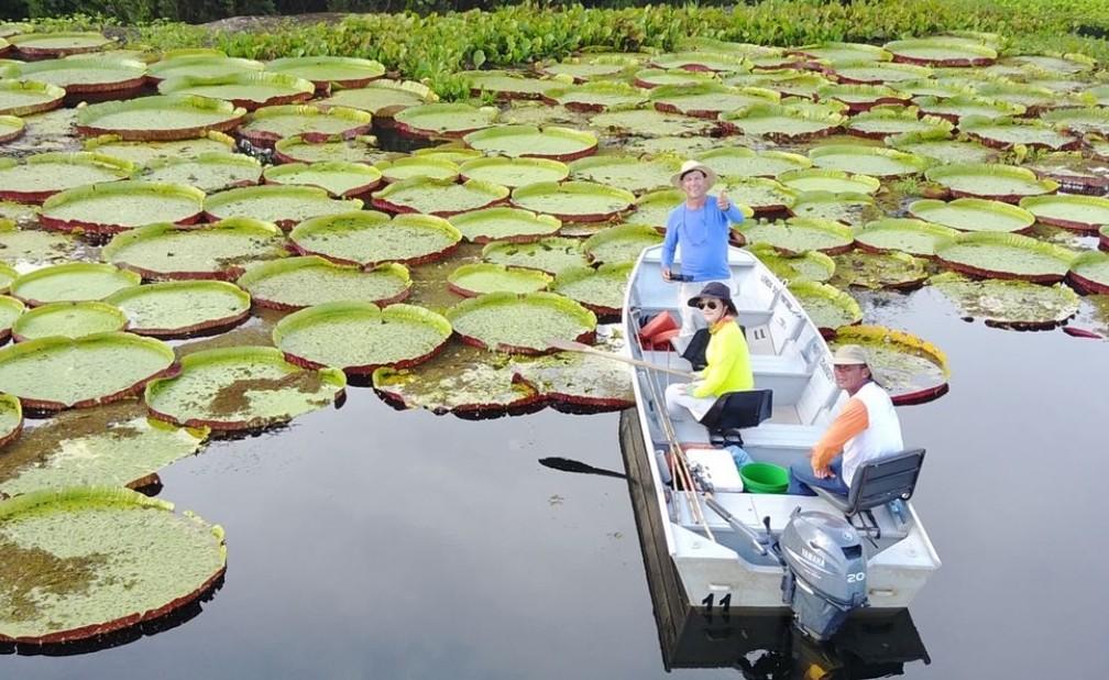 Turistas são atraídos pelas belas paisagens do lugar — Foto: Lenda Turismo/ Divulgação