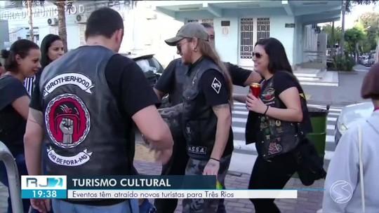 Eventos atraem novos turistas para Três Rios