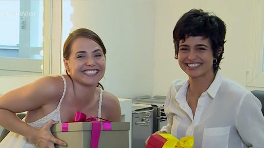 Letícia Colin e Nanda Costa trocam elogios na reta final de 'Segundo Sol'