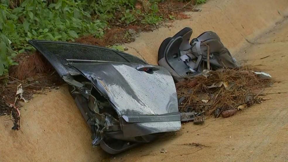 Acidente foi na Rodovia Raposo Tavares, em Itapetininga (SP) — Foto: Reprodução/TV TEM
