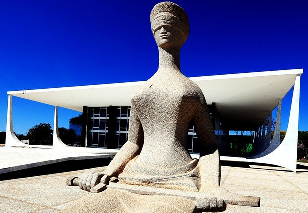 Supremo Tribunal Federal (STF) em Brasília (Foto: André Richter/Agência Brasil)