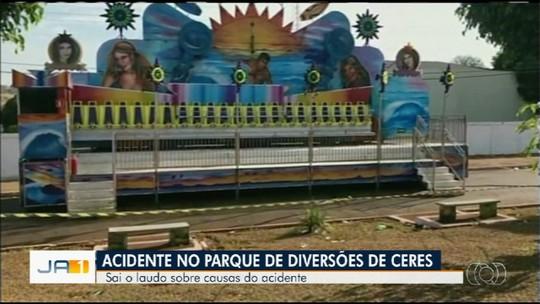 'Maiores culpados não foram indiciados', diz mãe de menina morta em acidente em parque de Ceres