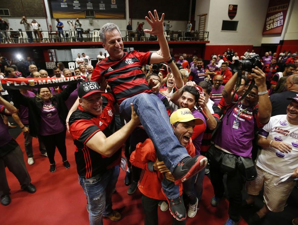 landim flamengo — Foto: André Durão / GloboEsporte.com