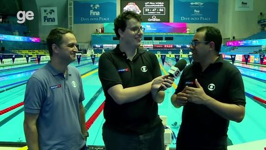 Boletim do Mundial de aquáticos: time da Globo analisa o bronze de Nicholas Santos