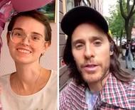 Jared Leto surpreende fã doente terminal com ligação de vídeo no dia de seu aniversário