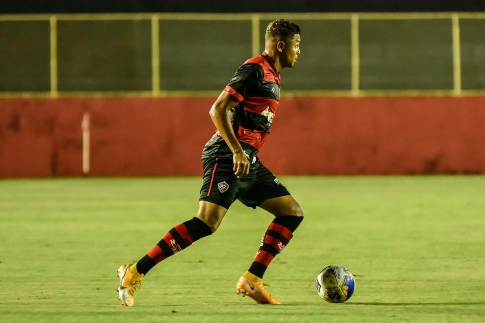 Samuel é o destaque do Vitória na temporada — Foto: Pietro Carpi / Divulgação / EC Vitória