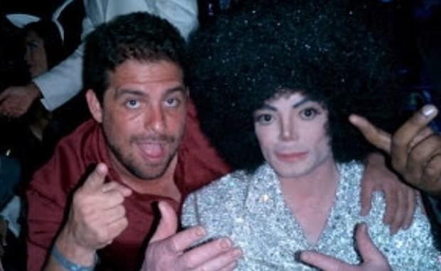 Brett Ratner e Michael Jackson (Foto: Reprodução / Instagram)