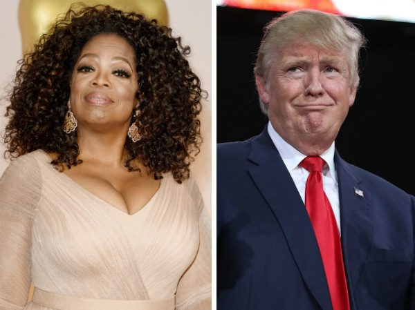 Oprah Winfrey e Donald Trump (Foto: Getty Images)