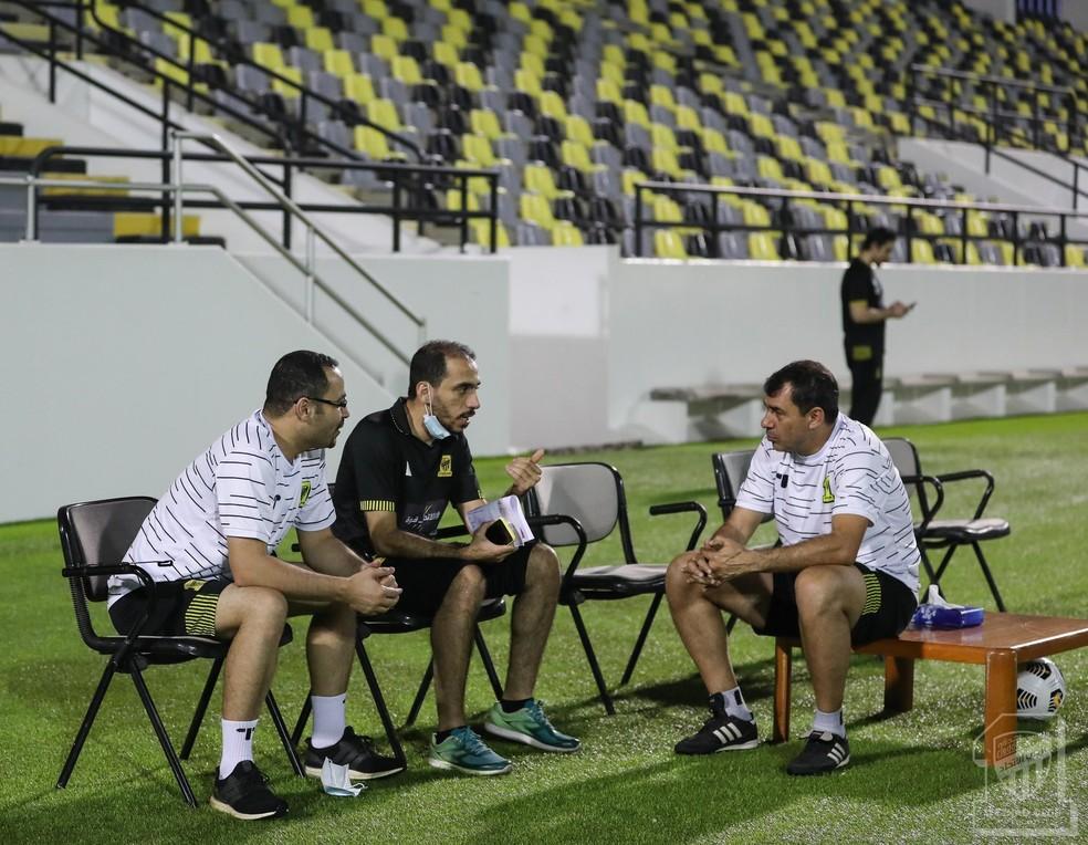 Ex-comandante do Corinthians tem contrato até o meio de 2021 — Foto: Divulgação/Al Ittihad