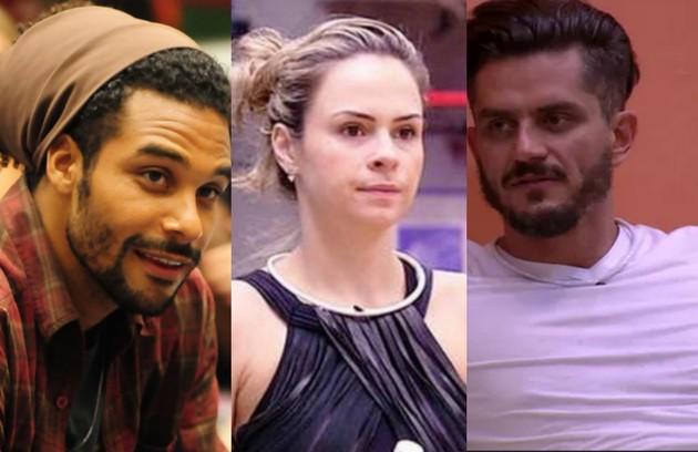 Desde a estreia, três participantes foram expulsos: Daniel ('BBB' 12), Ana Paula ('BBB' 16) e Marcos ('BBB' 17). O primeiro foi acusado de abusar sexualmente de Monique Amim. Já os outros dois saíram depois de agressões a outros brothers (Foto: TV Globo)