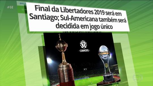 Conmebol anuncia mudanças na Libertadores e Copa Sul-Americana