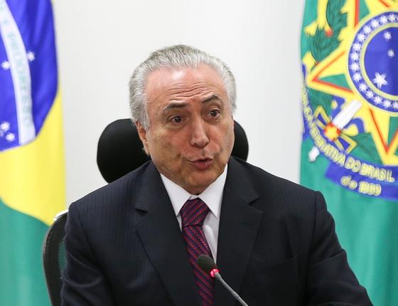 O presidente Michel Temer (Foto: Marcelo Camargo/ABR)