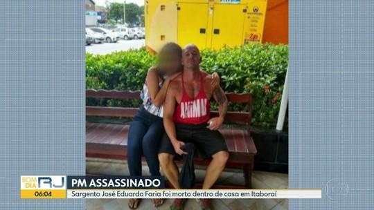 PM é morto no portão de casa em Itaboraí, na Região Metropolitana do RJ