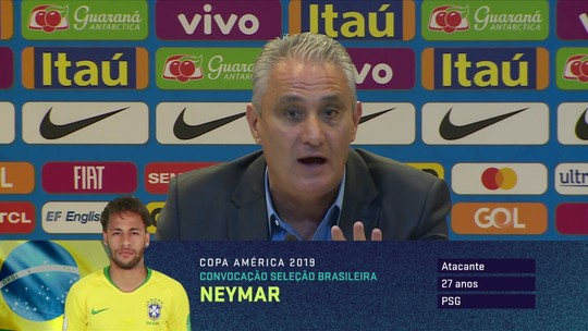 Tite fala sobre conduta com Neymar e garante que terá conversa com jogador
