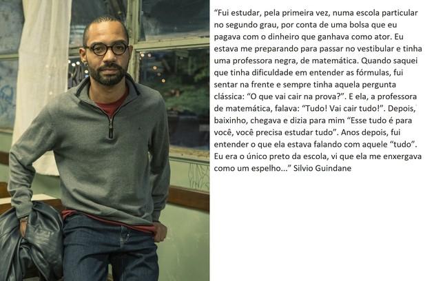 Silvio Guindane retorna na série  (Foto: TV Globo)