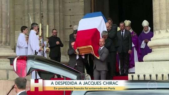 Líderes mundiais se reúnem em Paris para homenagem final a Jacques Chirac; veja FOTOS