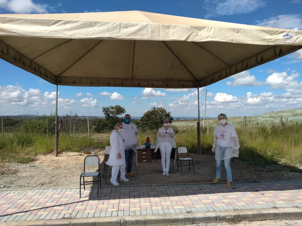 Cedro do Abaeté, no Centro-Oeste de Minas Gerais — Foto: Prefeitura do Cedro do Abaeté/Divulgação
