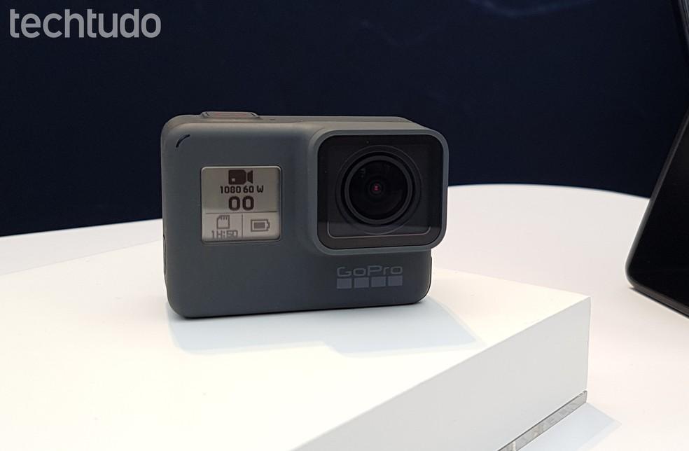 GoPro Hero6 Black já está disponível para compra em todo o mundo (Foto: Viviane Werneck/TechTudo)