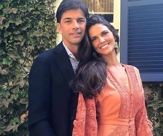 Daniella Sarahyba com o marido, Wolf Klabin (Foto: Reprodução Instagram)