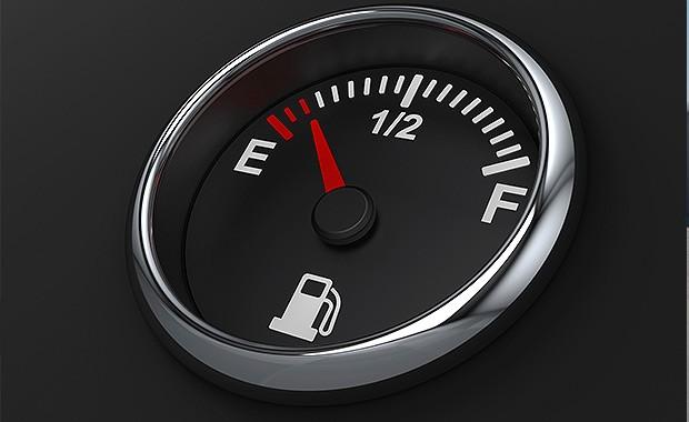 Mostrador de combustível (Foto: Thinkstock)