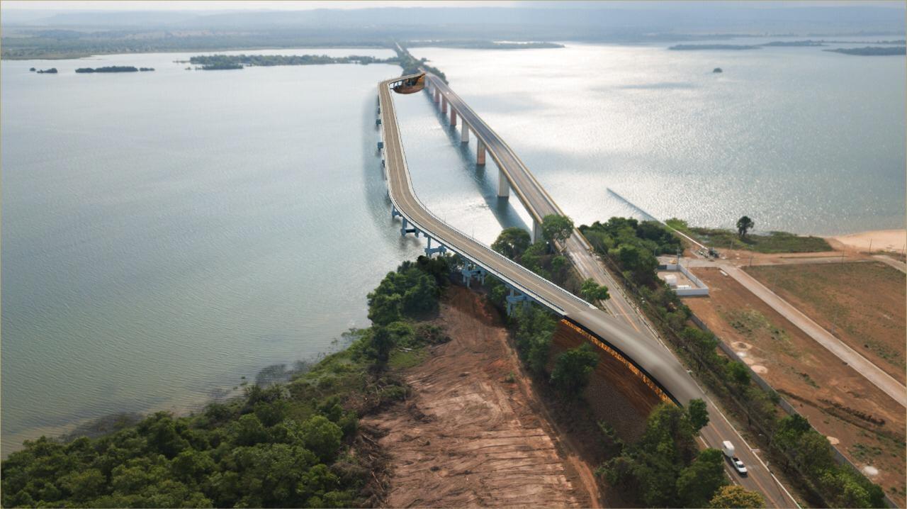 Primeiras imagens de como a nova ponte de Porto Nacional deve ficar são divulgadas