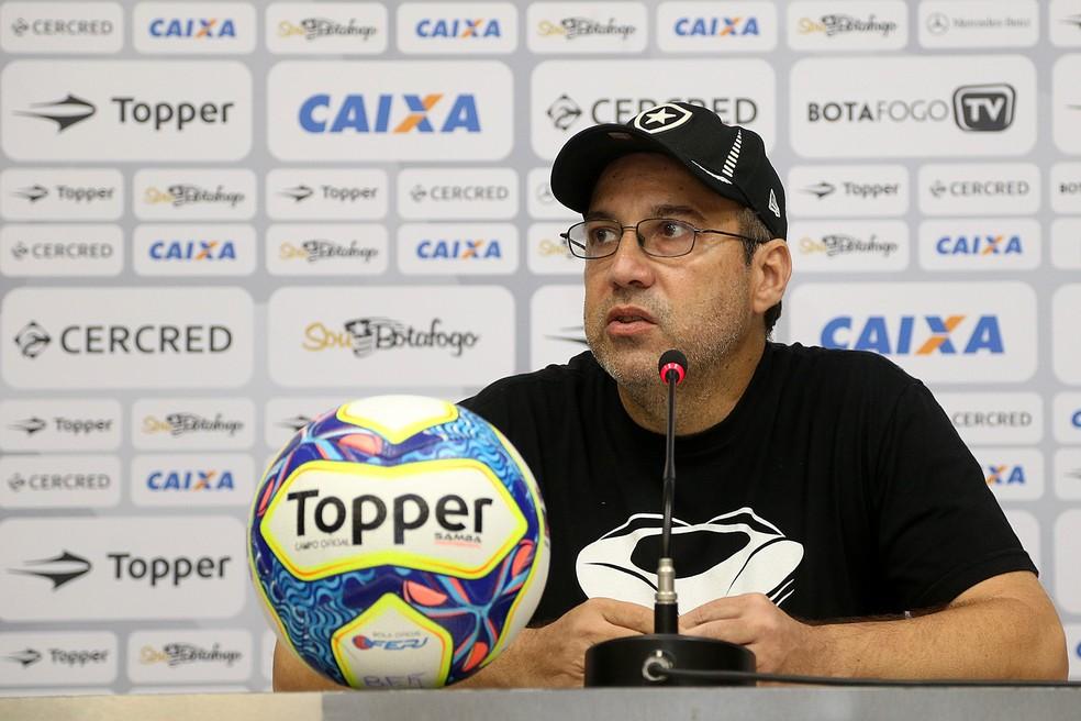 Marcio Padilha, Vice de Comunicação do Botafogo (Foto: Vitor Silva/SSPress/Botafogo)
