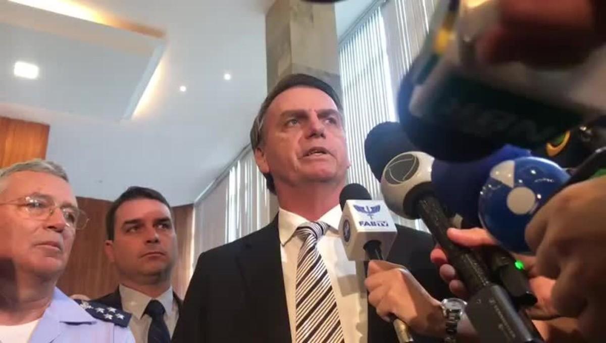 """Resultado de imagem para """"Não é o momento"""", diz Bolsonaro sobre aumento de salários do STF"""