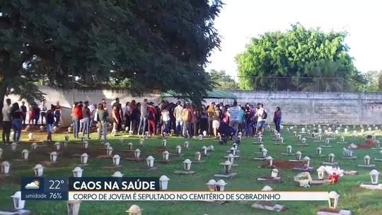 Corpo de paciente que não foi atendida no Hospital de Sobradinho é sepultado