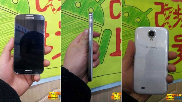 Fórum chinês 'S2 Samsung' publicou supostas imagens do Galaxy S IV (Foto: Reprodução)