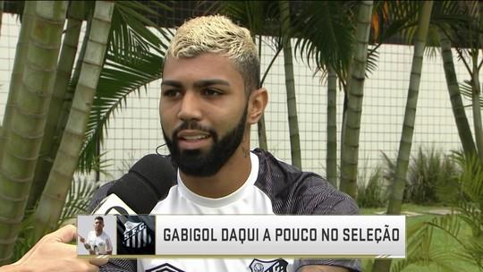 Após fim de jejum no Santos, Gabigol valoriza jogo coletivo e diz que é cobrado como centroavante