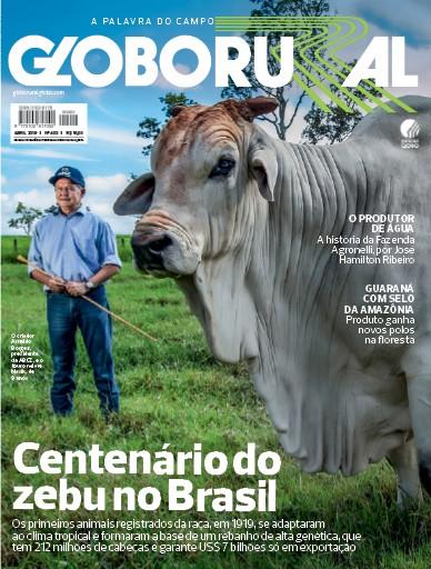 Capa da edição de abril da Revista Globo Rural (Foto: Globo Rural)
