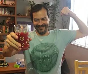 Heitor Martinez faz dieta saudável após Covid | Arquivo pessoal
