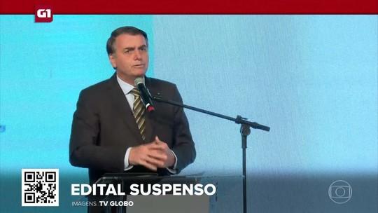G1 em 1 Minuto: Governo Bolsonaro suspende edital com séries de temas LGBT