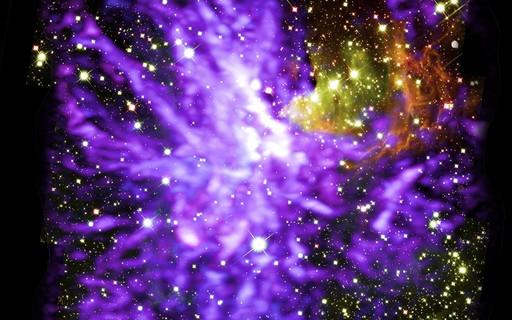 Telescópios Hubble e ALMA registram nascimento de aglomerado de estrelas