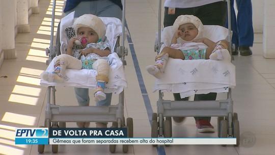 Separadas, gêmeas que nasceram unidas pela cabeça têm alta do HC e devem passar réveillon na praia