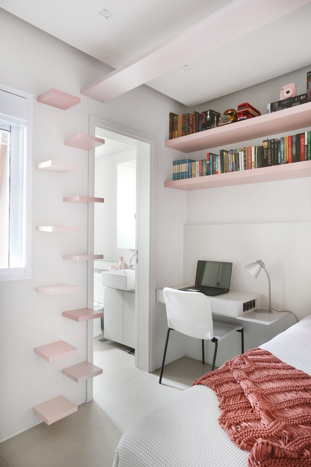 Um apartamento funcional para um casal com uma filha e três gatos (Foto: Divulgação)