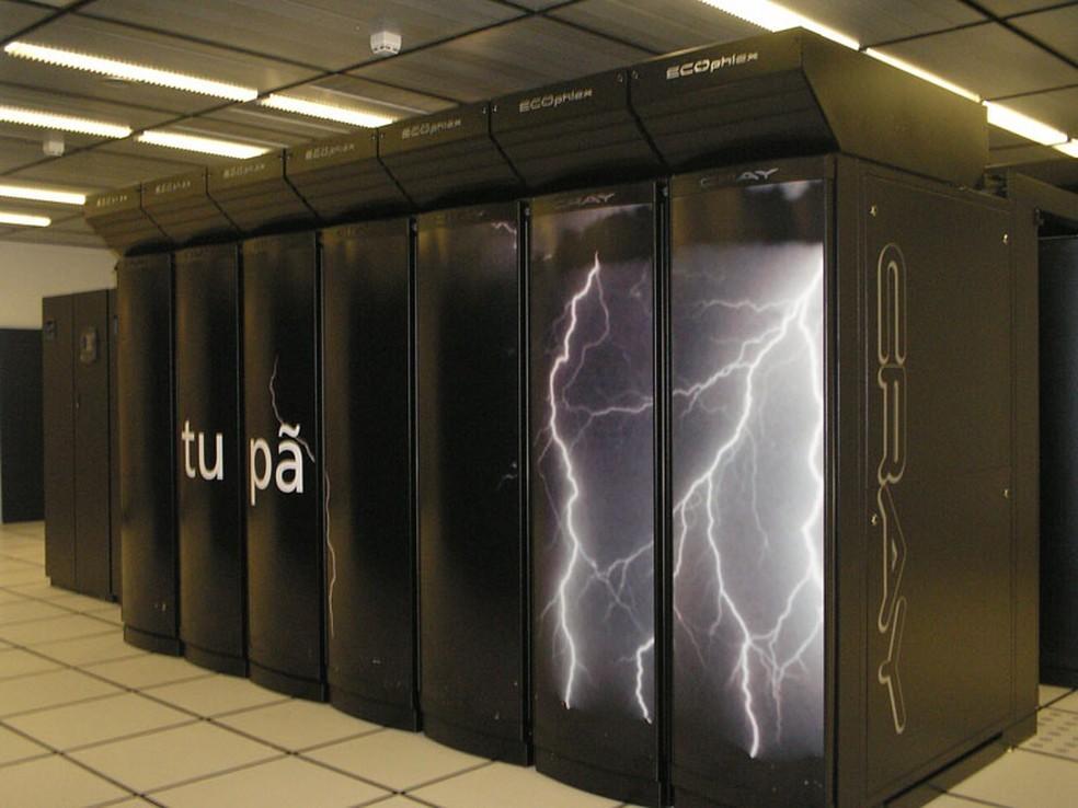 Supercomputador que corria risco de ser desligado por falta de energia será substituído, segundo diretor do Inpe e ministro — Foto: Divulgação/Inpe