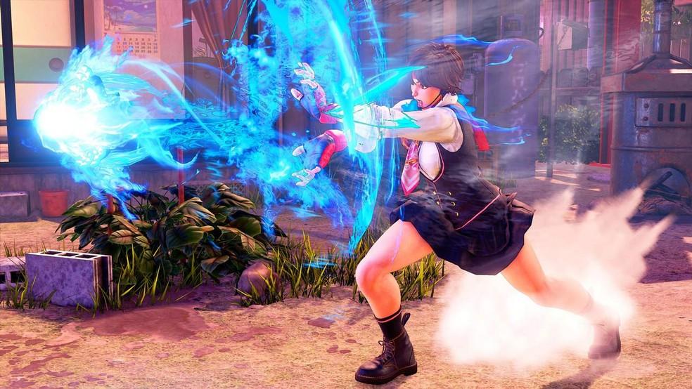 Sakura poderá ser testada por tempo limitado em Street Fighter 5 (Foto: Divulgação/Capcom)