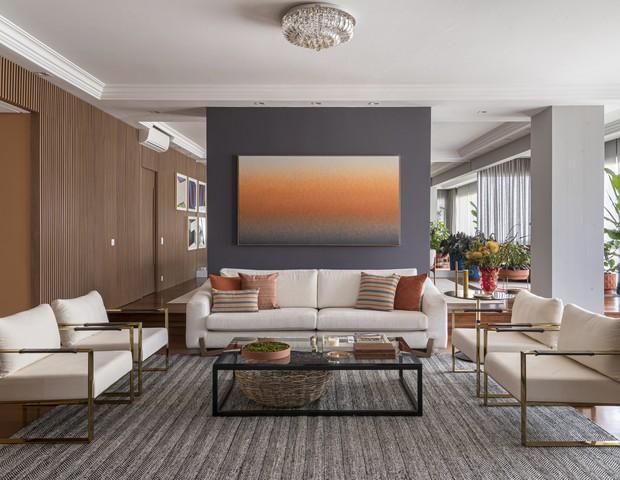 Apartamento de 320 m² tem cara de casa e décor aconchegante  (Foto: FOTOS 647 FILME&PUBLICIDADE)
